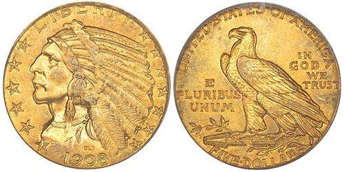 Indian Half Eagle